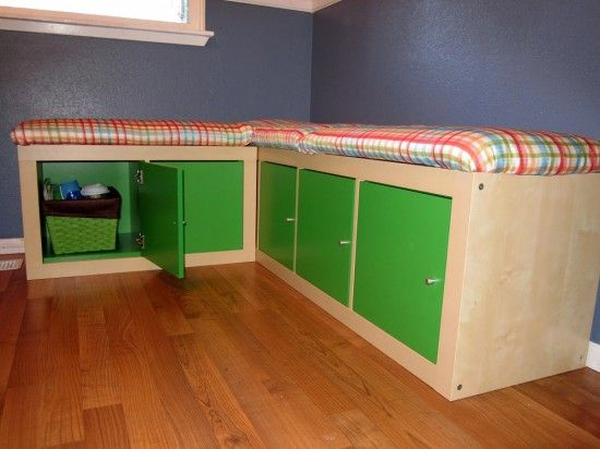 17 best images about kitchen banquette seating project on for Corner bench with storage ikea