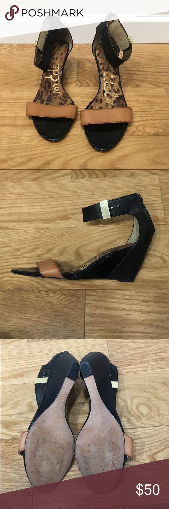 Black sandals littlewoods - Sam Edelman Sophie Wedge Sandal