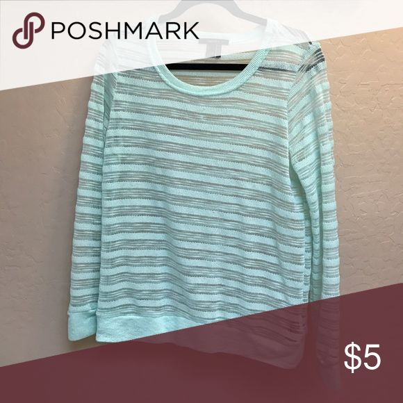 Light weight mint sweater Forever 21, perfect for the spring Sweaters Crew & Scoop Necks
