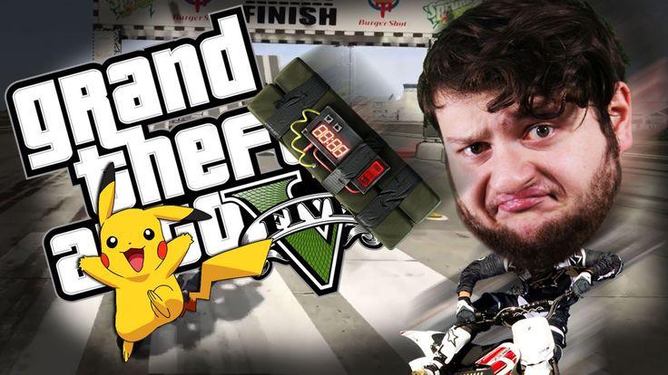 GTA 5 PC Online Funny Moments - PIKACHU VS PROXIMITY MINES! (Custom Games) - YouTube