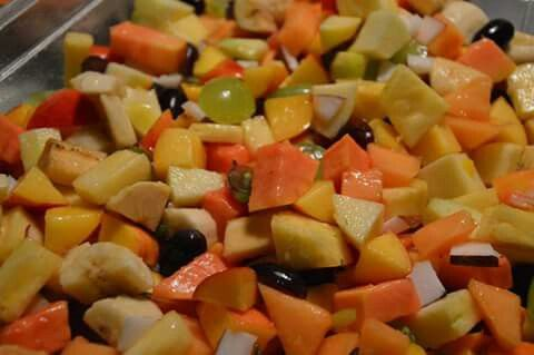 IKERALA MIX FRUITS SALAD * 04/07/15 * INDIA AT YOUR HOME *