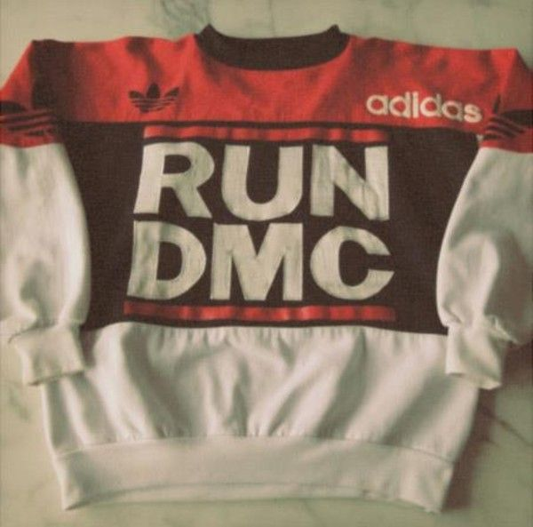Vintage Adidas Sweater RUN DMC