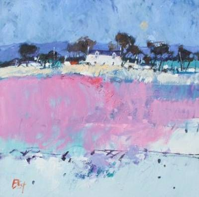 Winter Moorland by Scottish Contemporary Artist Ian ELLIOT