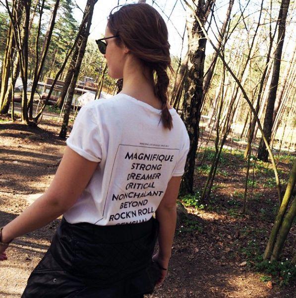 The Empowering Tee on @ellinorsande via instagram #aninebinggirls