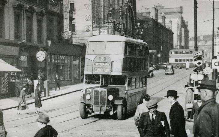Hope Street, Glasgow.