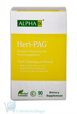 Heri-PAG - Toxin Cleansing and Beauty - Alpha - 90 capsules | Shop New Zealand NZ$100