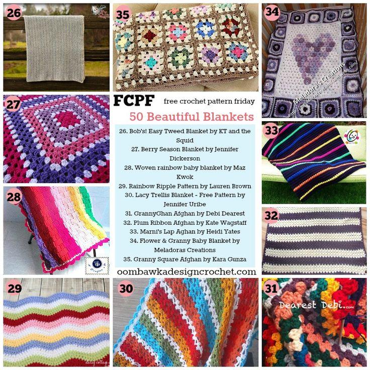 14 besten Free Crochet Afghan Patterns Bilder auf Pinterest ...