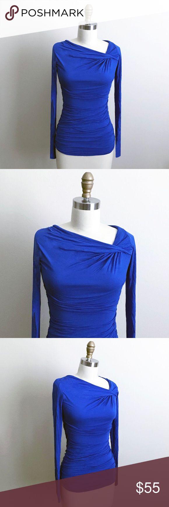 💎 Cute Bailey 44 Twist Top💎 🎉 Beautiful cobalt blue top with twist neckline 🎉 Bailey 44 Tops