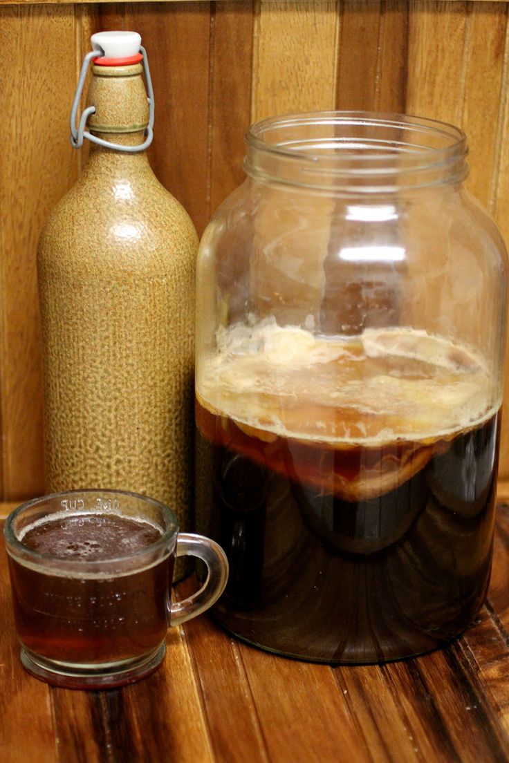 Coffee Kombucha | Cultured Food Life
