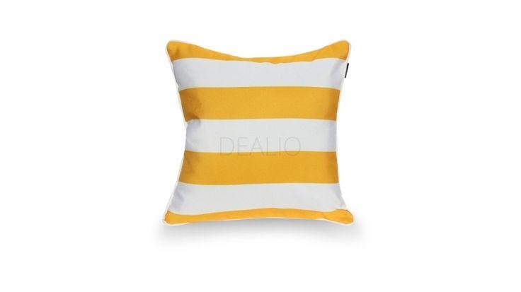 Yellow Stripe Square http://www.lavitafurniture.com.au/outdoor-cushions/yellow-stripe-square-M434.html