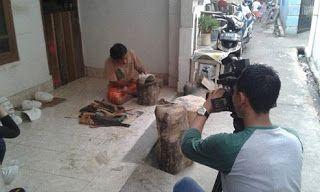 Dokumentasi Batavia art Colection: Kunjungan MNC TV Dalam Liputan Budaya Betawi Di Sa...