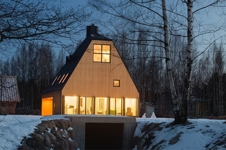 House in Pribylovo on Behance