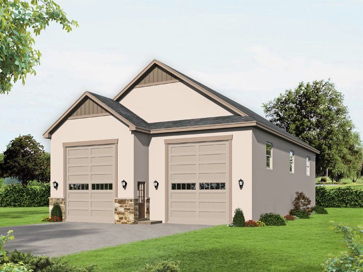 062g 0208 Detached Boat Storage Garage In 2020 Garage House Plans Garage Plan New House Plans