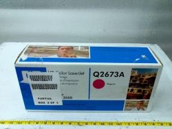 11377 - HP Q2673A Magenta Laser Toner Cartridge for sale at bmisurplus.com.