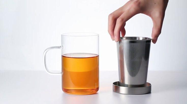 http://gaiwan.de/teeglas-teesieb-350-500-ml-glasklar-gold-koenigsblau.html | Teeglas mit Teesieb und Deckel mit 350 und 500 ml - SAMADOYO