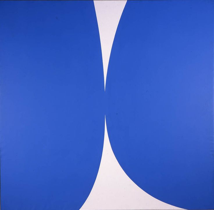 aestheticgoddess:  Ellsworth Kelly, Blue White, 1962