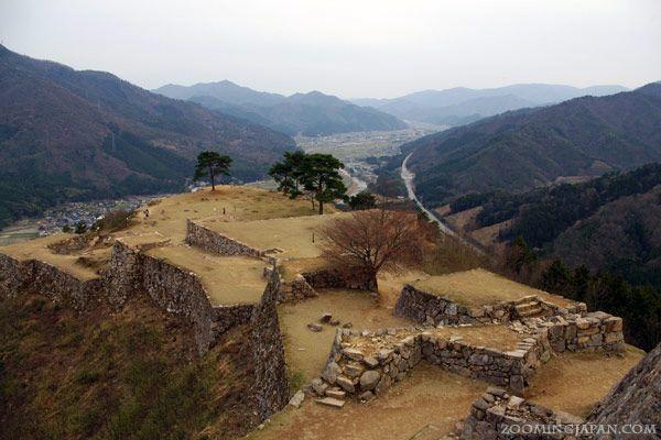 "Takeda Castle - ""The Castle in the Sky"" a.k.a. Machu Picchu of Japan."