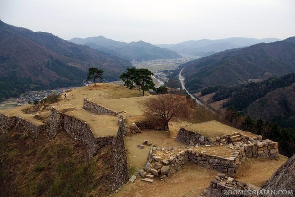 "Takeda Castle - ""The Castle in the Sky"" a.k.a. Machu Picchu of Japan."