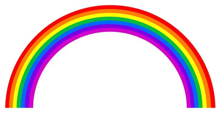 Rainbow Clipart Black And White | Clipart Panda - Free ...