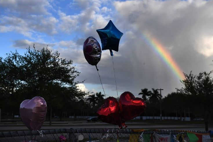 'Protect us': Two weeks after Valentine's Day massacre, students return to class at Florida high school
