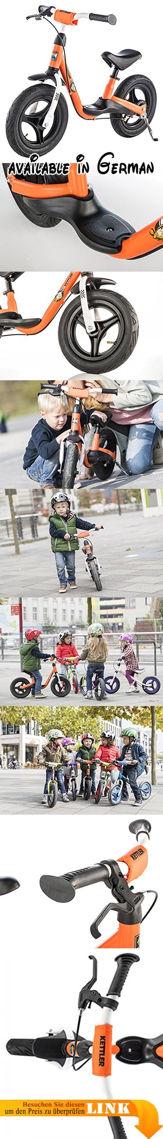 """Kettler Laufrad """"Spirit Air Racing"""" – Reifengröße: 12,5 Zoll, ab 2 Jahren geeignet – Lauflernrad für Jungs und Mädchen – verstellbare Höhe – Farbe: Orange und Schwarz. MIT TEMPO UNTERWEGS: Dieses Laufrad ab 2 Jahre ist ein absolutes Highlight vom Kindergarten bis ins Vorschulalter. Egal wohin es ab sofort geht - das neue Laufrad für Kinder muss mit!. LERNEN & SPIELEN: Das Fahren mit dem Kinder Laufrad macht nicht nur Spaß, sondern fördert auch wichtige"""