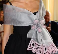 Resultado de imagen de foulard boda