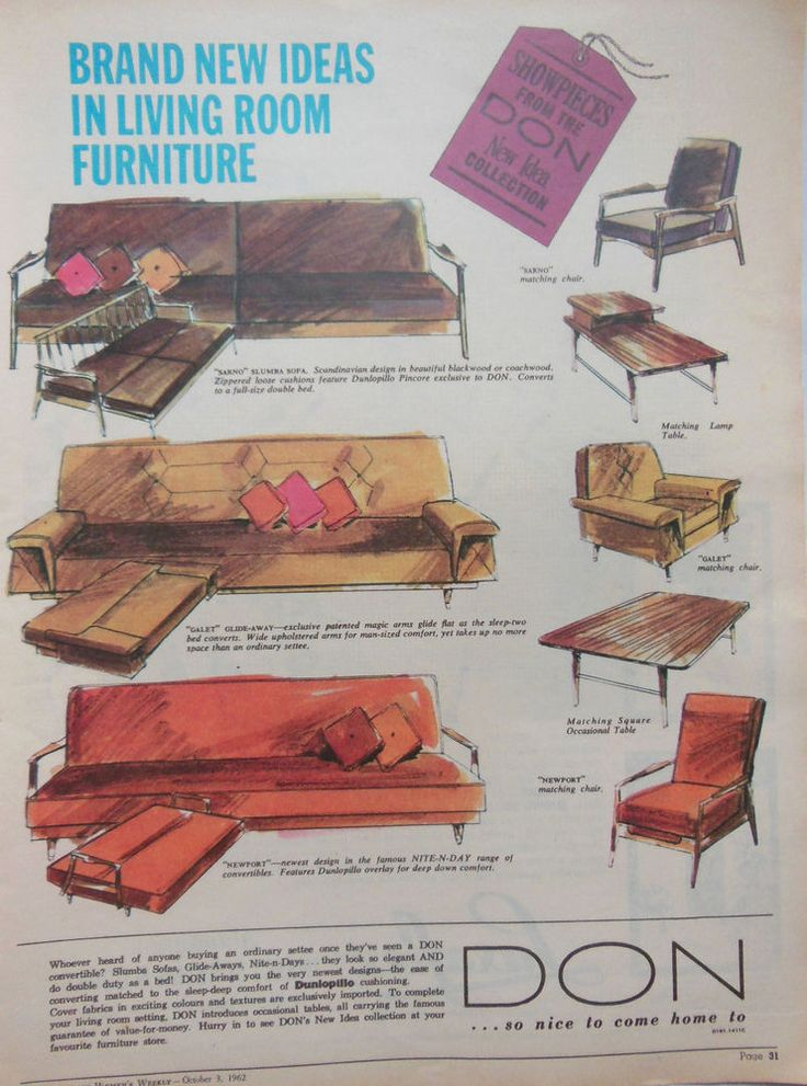 1598 best images about vintage furniture ads on pinterest wakefield mid century and eero saarinen - Furniture advertising ideas ...
