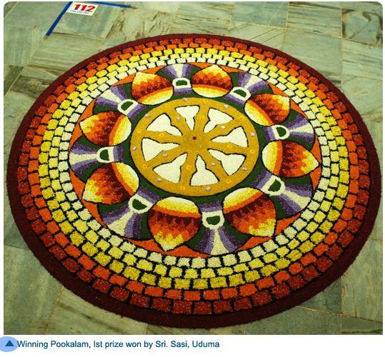 Best Pookalam Design 14