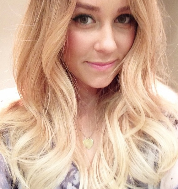 Lauren Conrad Officially Has A Bob Blonde Ombre Ombre