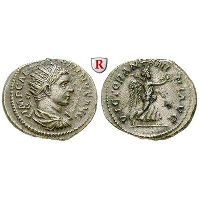 Römische Kaiserzeit, Elagabal, Antoninian 219 n.Chr., ss-vz: Elagabal 218-222. Antoninian 23 mm 219 n.Chr. Rom. Drapierte und… #coins