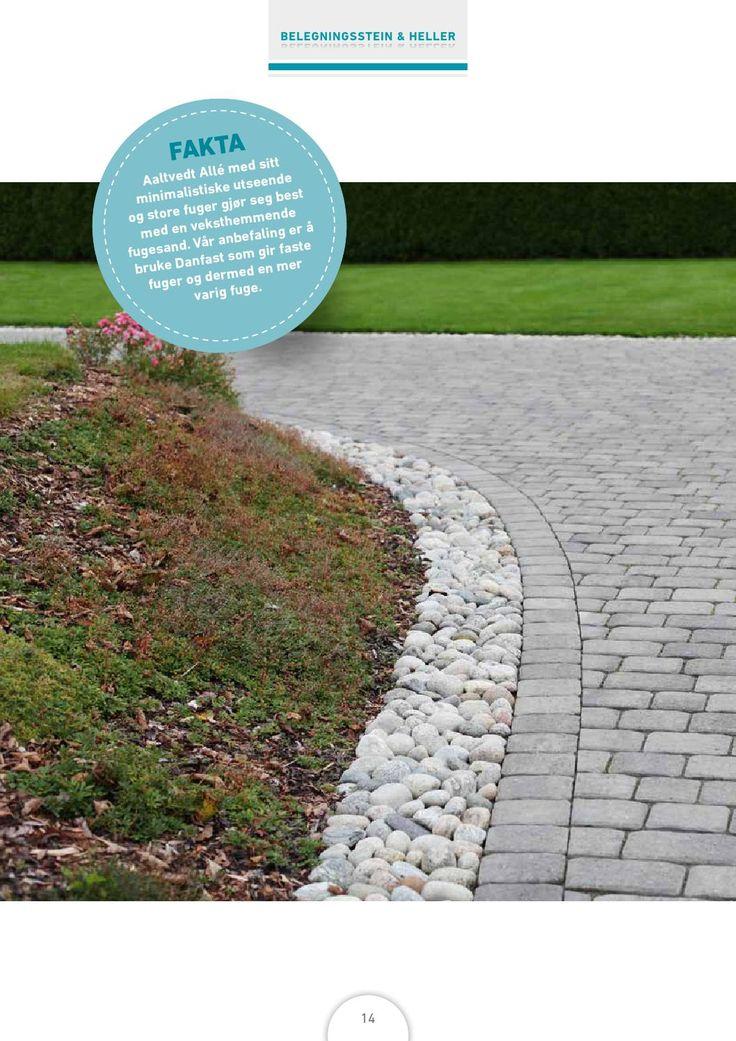 Inspirasjonsbrosjyre fra Aaltvedt Stein - Bredt utvalg belegningsstein, støttemur, dekorstein, hageheller, hagelys og mye mer. Gjør uterommet…
