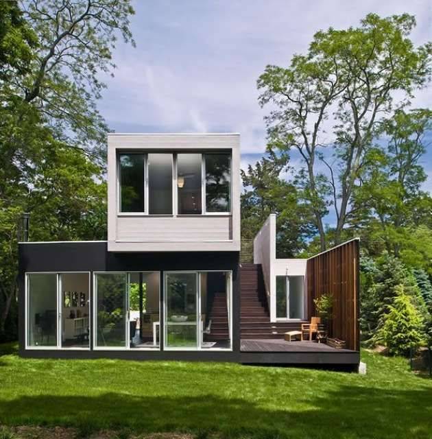 17 mejores ideas sobre casa prefabricada en pinterest - Precio casa container ...