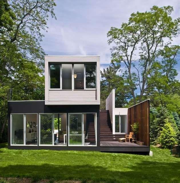 17 mejores ideas sobre casa prefabricada en pinterest - Casas prefabricadas contenedores ...