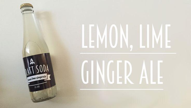 Lemon, Lime Ginger Ale