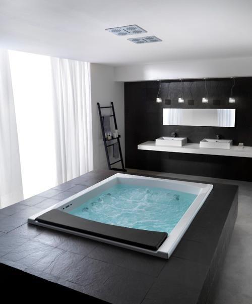 22 besten Badewannen und Duschen Bilder auf Pinterest Badezimmer - freistehende badewanne raffinierten look
