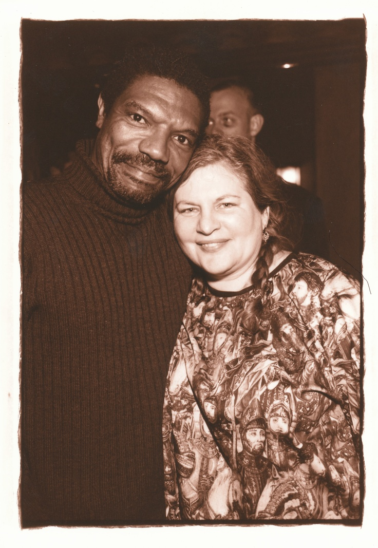 Directors Vondie Curtis Hall and Allison Anders at the 2001 Spirit Awards