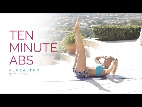 10 Minute Abs | Rebecca Louise - YouTube