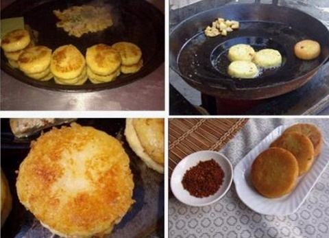 Mashed potato is one of the features of guiyang