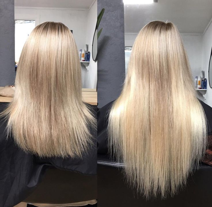 Blonde tape hair extensions hair by Charmaine