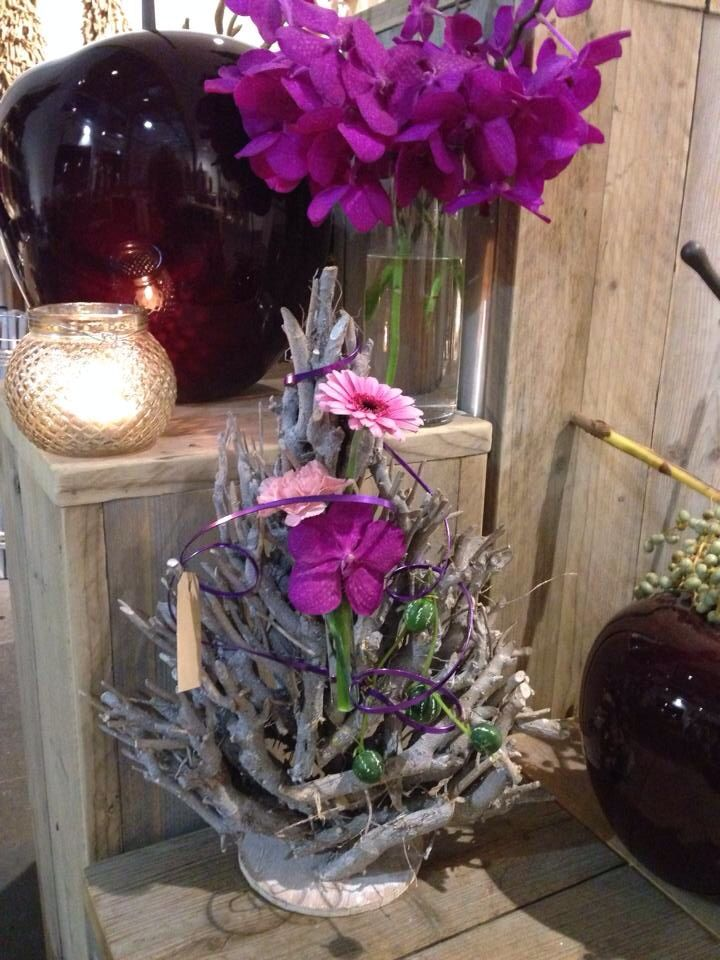 25 unieke idee n over verse bloemen op pinterest for Boomschijven decoratie