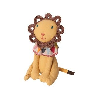 MAILEG CIRCUS LION - $19.95 - From the children's Circus range the adorable circus lion is perfect for stimulating young minds and develop imaginative thinking and play.  Your little one will love to play with the circus characters and perform their very own circus show.  Also a perfect display touch and addition to your child's nursery, bedroom or playroom.   Made from 100% Cotton   Height - 10cm #sweetcreations #kids #gifts #maileg #circus