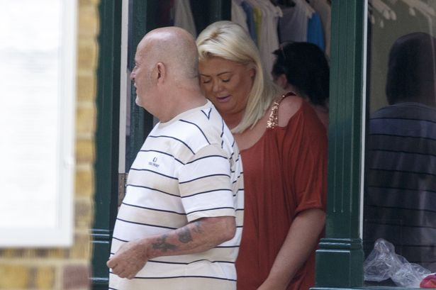 TOWIE's Gemma Collins cosies up to Sam and Billie Faiers' stepdad who was jailed over £1million bullion heist - Mirror Online