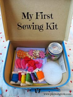 Play Eat Grow: DIY First Sewing Kit for #Kids