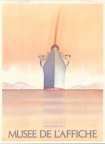 By Jean-Michel Folon (Belgian, 1934-2005)