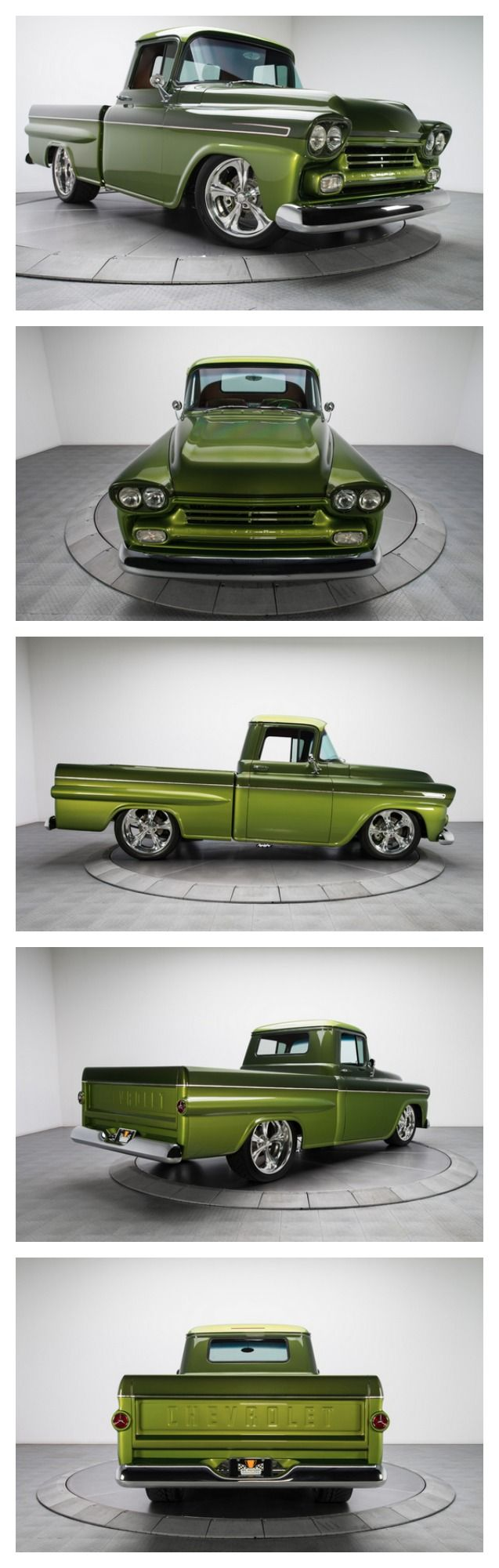 """Perpetually cool and visually stunning, this awesome Chevy """"Koolant"""" pickup is a near perfect example of a custom made road warrior"""