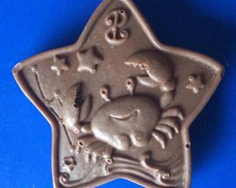 Set von 3-Krebs Praline - SUNSIGN Süßigkeiten - Sternzeichen Horoskop Partei zugunsten