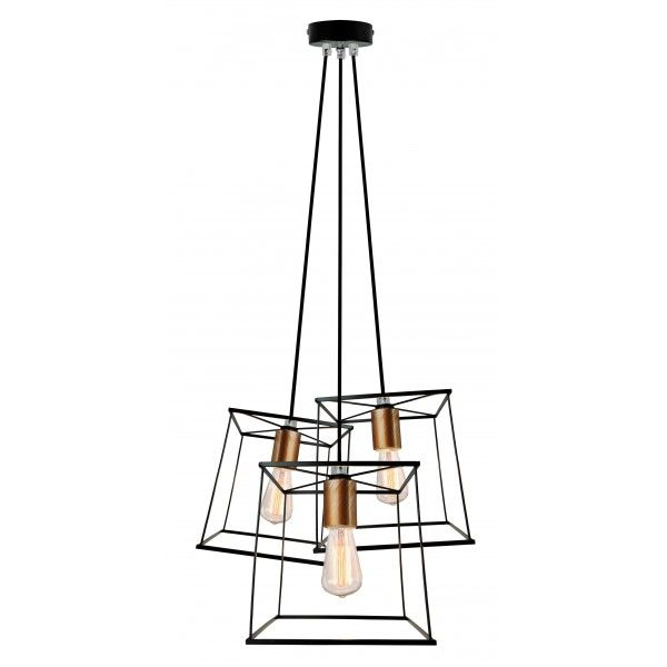 Viokef 3 Fenyforras Agatha Pendant Light Ceiling Lights Decor