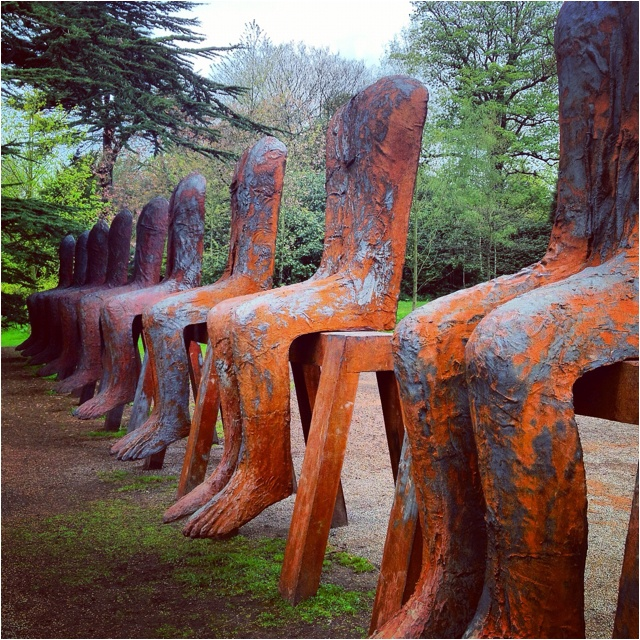 Magdalena Abakanowicz at the Yorkshire Sculpture Park