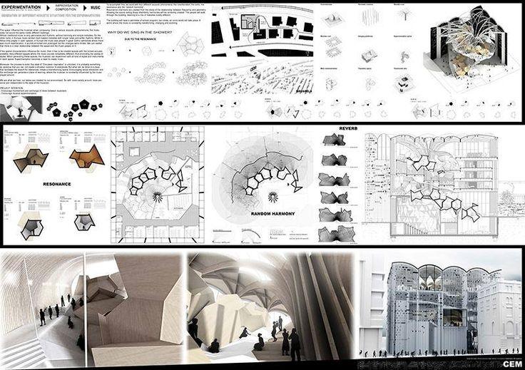 Center for musical experimention: Proyecto final de carrrera de arquitectura de Victor Diaz Ortega.