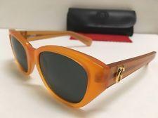 RARE Vintage Gianni Versace Designer Women's Orange Sunglasses Medusa Mod 462